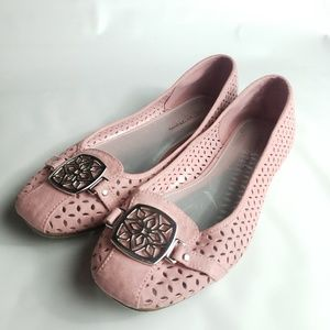 Christian Siriano Payless Pink Buckle Flats Loafer